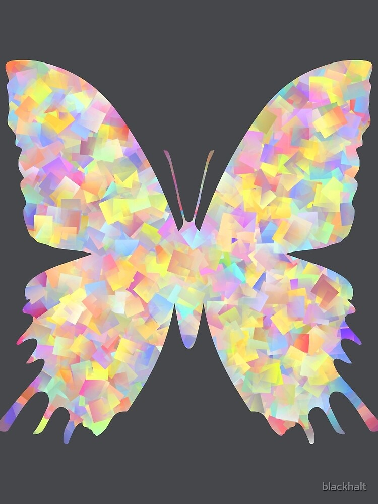 Pastel Motley Butterfly by blackhalt