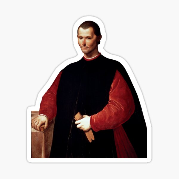 Niccolò Machiavelli Sticker