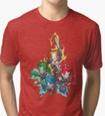 Castle crashers Tri-blend T-Shirt