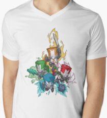 Castle crashers Men's V-Neck T-Shirt