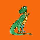 Tyrannosaurus by Andrea England