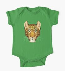 Leopard Face Kids Clothes