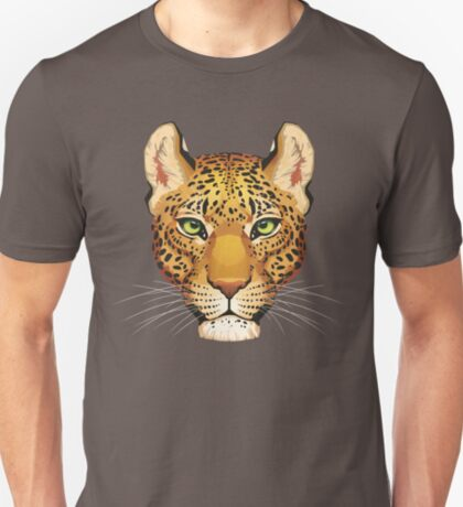 Leopard Face T-Shirt