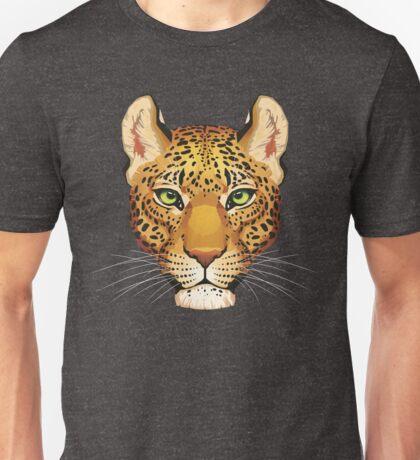 Leopard Face Unisex T-Shirt