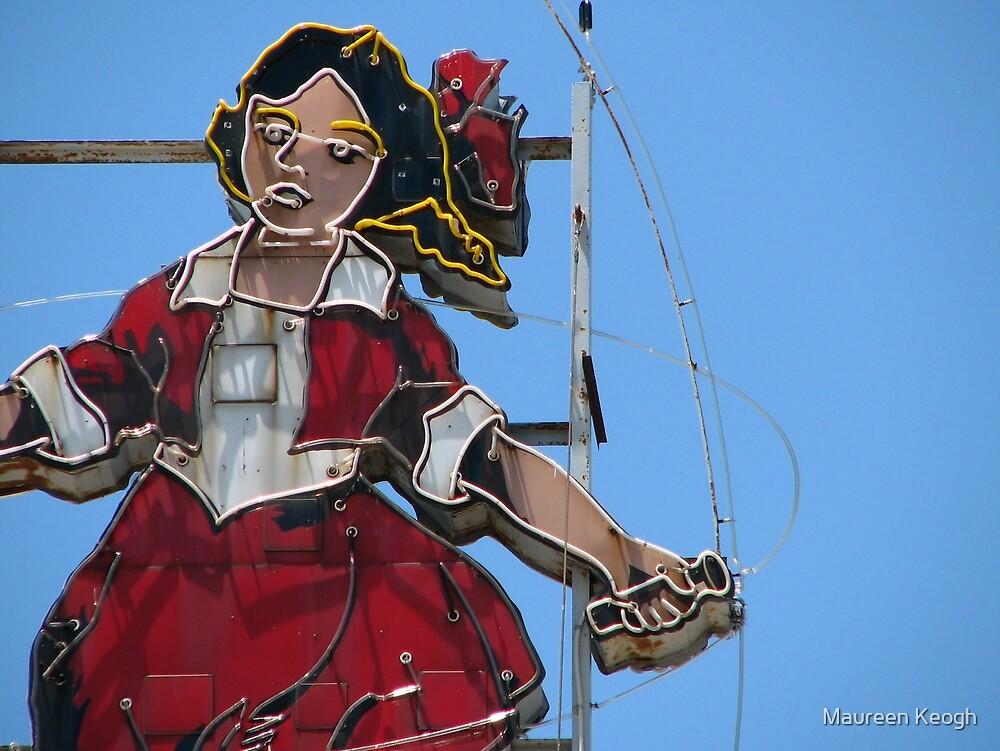 Richmond - Skipping Girl by Maureen Keogh