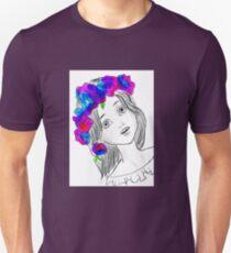 Pretty Girl With Pretty Flowers T-Shirt