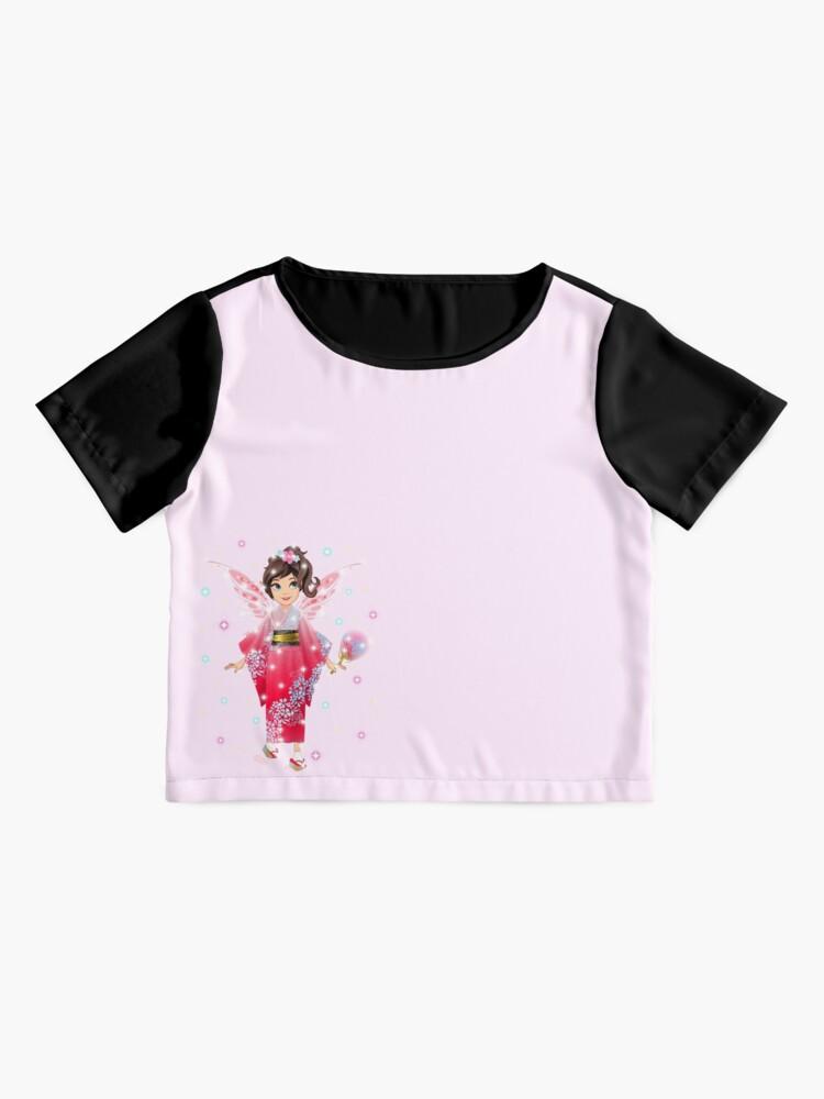 Alternate view of Iaada the International Fairy – Japanese™ Chiffon Top