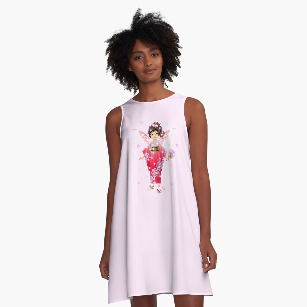 Iaada the International Fairy – Japanese™ A-Line Dress