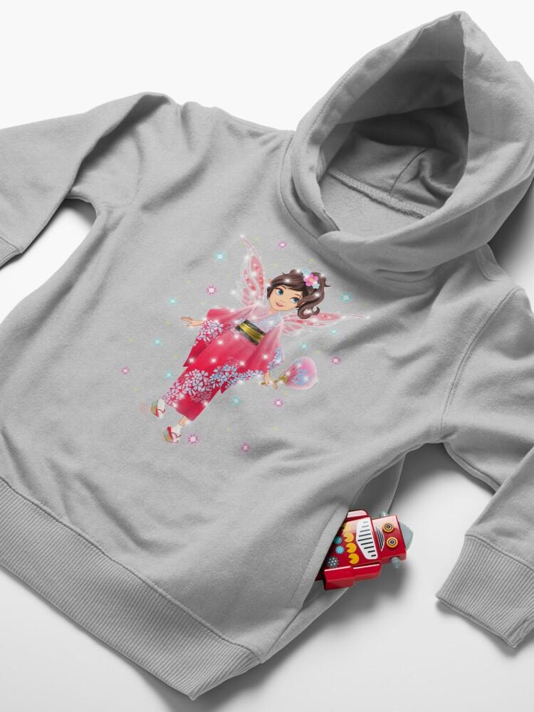 Alternate view of Iaada the International Fairy – Japanese™ Toddler Pullover Hoodie