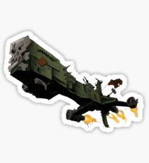 Harlock Arcadia Sticker