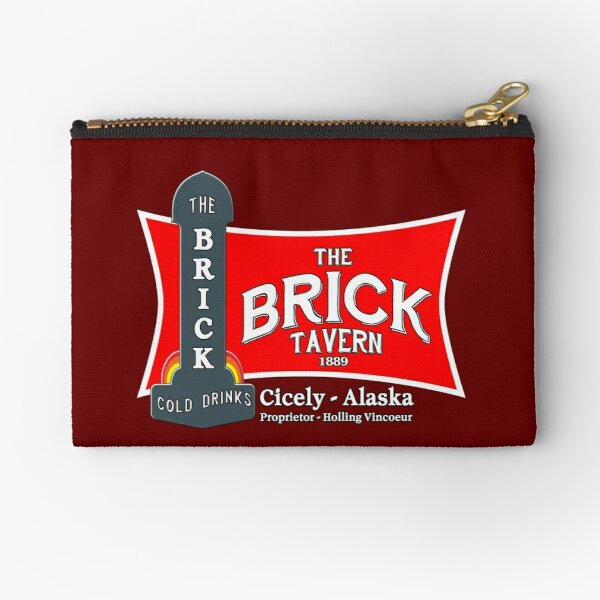 The Brick : Northen Exposure Zipper Pouch