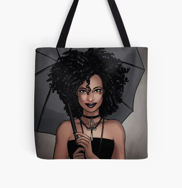 Death All Over Print Tote Bag