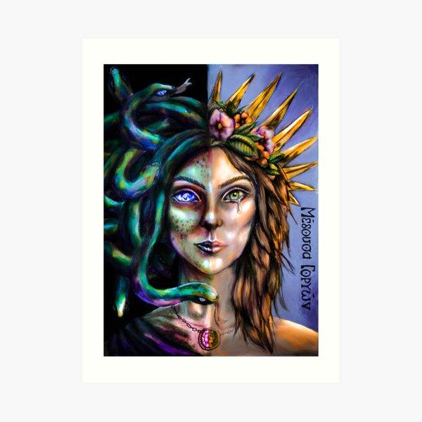 She who Sheds Her Skin Art Print