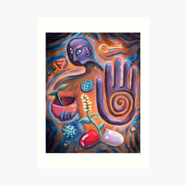 Gaia's Remedy Art Print