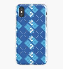 Gallifrey Argyle iPhone Case