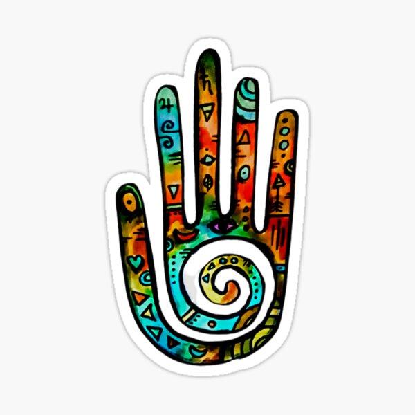 Healing Hand Decal Sticker