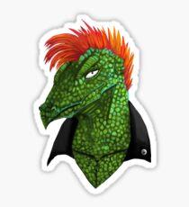 Lizard Portrait Sticker