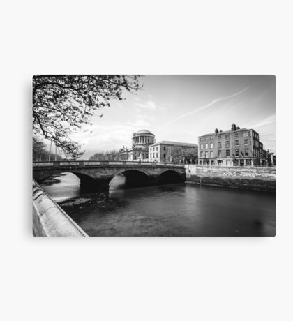 The Four Courts, Dublin Canvas Print