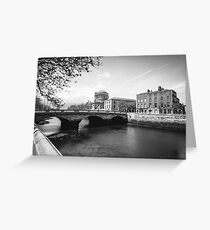 The Four Courts, Dublin Greeting Card