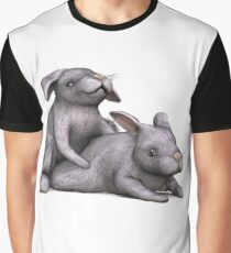 Easter Bunnies Graphic T-Shirt