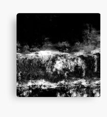 abstract black Canvas Print