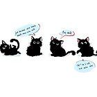 Schlechte Kätzchen von DuzeKubki
