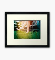 Lomo - Chit chat Framed Print