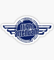 Flight Attendant Sticker