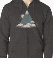 Cloud Mountain Zipped Hoodie