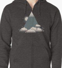 Cloud Mountain Zipped Hoodie