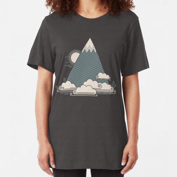 Cloud Mountain Slim Fit T-Shirt