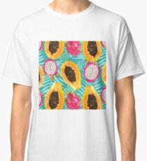 sunny fruit pattern Classic T-Shirt