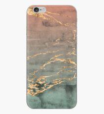 Marmor Gold Koralle Minze Farbverlauf Telefonabdeckung iPhone-Hülle & Cover