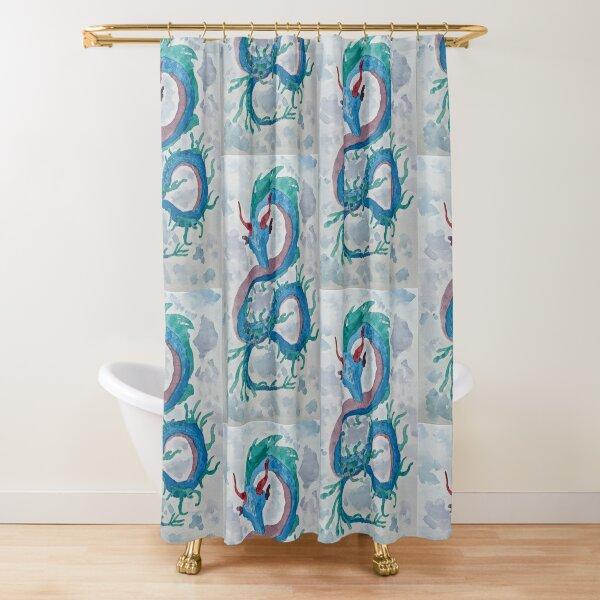 Weedy (Sea)Dragon Shower Curtain