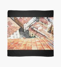Florence watercolor painting Scarf