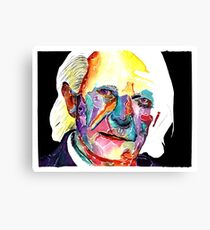 First Doctor / William Hartness Canvas Print