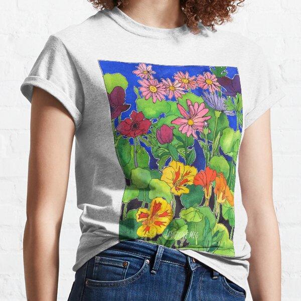 Nasturtium Garden Classic T-Shirt