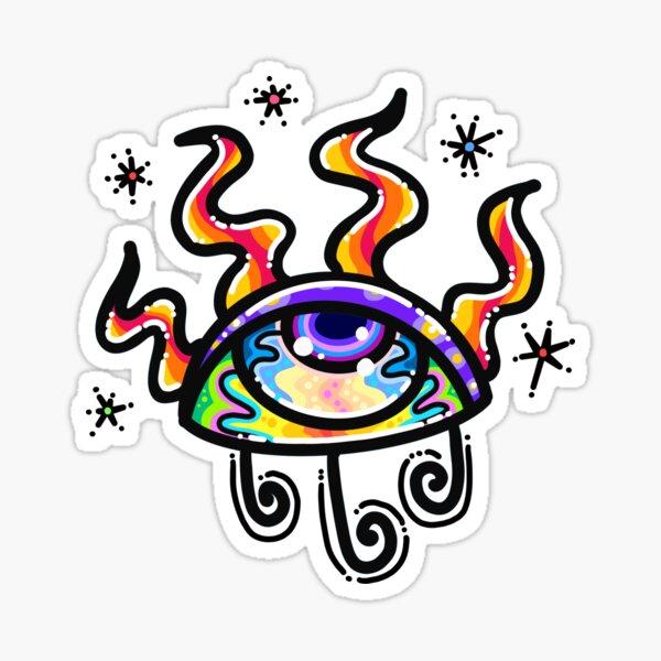 Magic Eye #1 Sticker