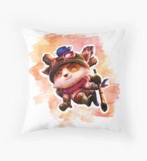 Teemo - LoL Throw Pillow