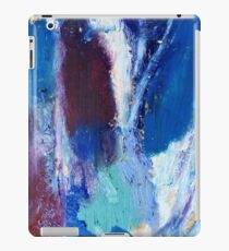 Colourful Abstract Oil Pastel Design iPad Case/Skin