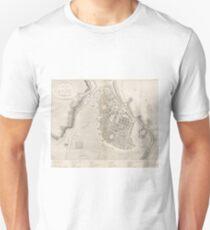 Vintage Map of Odessa Ukraine (1827) Unisex T-Shirt