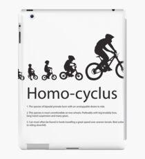 Bike Evolution  iPad Case/Skin