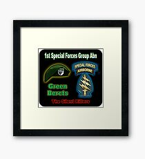 1st Special Forces Group (Abn) Framed Print