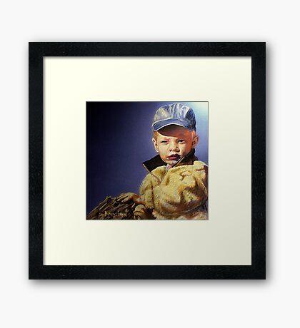The Golden Child Framed Print