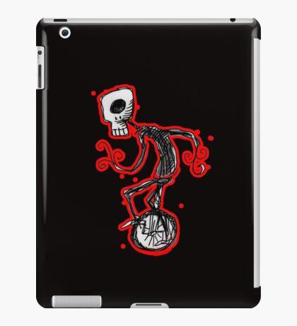 cyclops on a unicycle iPad Case/Skin