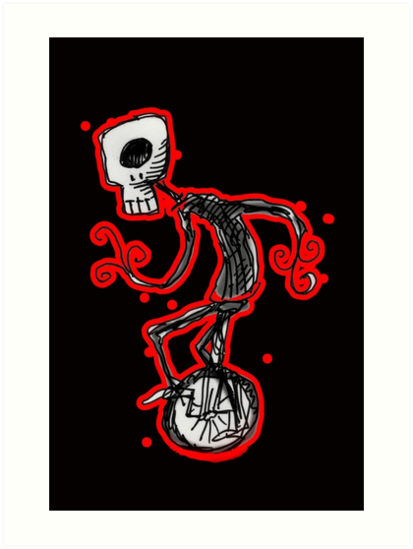 cyclops on a unicycle by Matt Mawson