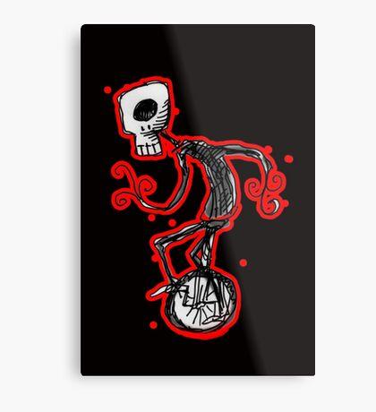 cyclops on a unicycle Metal Print