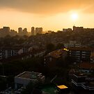 HBC Sunset, Seoul by koreanrooftop