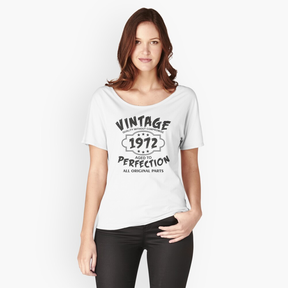 Vintage 1972  Women's Relaxed Fit T-Shirt Front