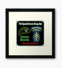 11th Special Forces Group (Abn) Framed Print